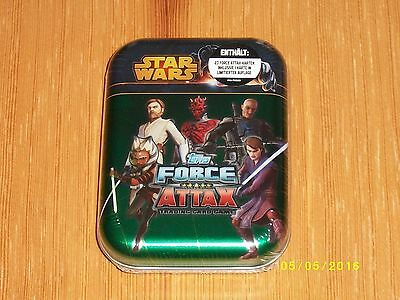 Star Wars Force Attax, Clone Wars, Tin Box, Serie 5