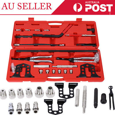 23pc Cylinder Valve Spring Compressor Tool Kit for Car Motorcycle Petrol Engines