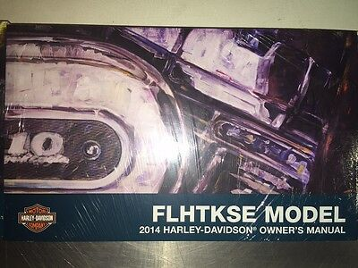 2014 Harley-Davidson FLHTKSE Owners Manual 99473-14