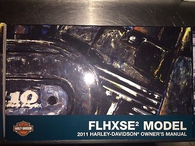 2011 Harley-Davidson FLHXSE2 Owners Manual 99577-11
