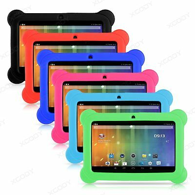 For 7 inch Tablet Universal Soft Silicone Gel Rubber Shockproof Case Cover XGODY