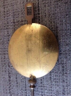 Antique Clock Pendulum 85mm Long 50mm Bob 97grams