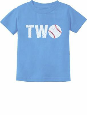2nd Birthday Gift For Two Year Old Baseball Toddler Kids T Shirt 2
