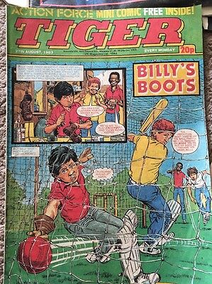 Tiger Comic Dated 27Th August 1983