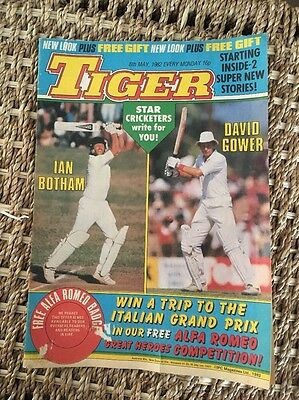 TIGER COMIC DATED 8th MAY 1982.