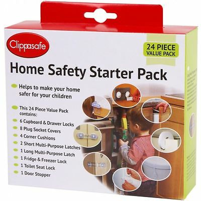 New Clippasafe Home Baby Safety Starter Pack Set Kit New - Free Postage