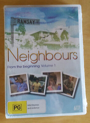 Neighbours From The Beginning Volume 1 DVD PAL New Sealed