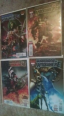 Guardians of Knowhere #1, 2, 3, 4