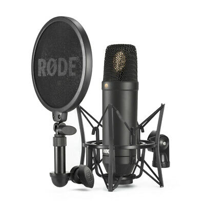 Rode NT1 Professional Studio Condenser Microphone w/ Rycote Suspension Kit