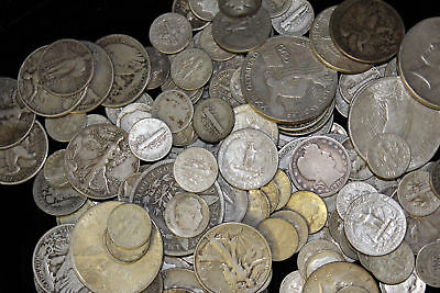 Obsolete Us Silver Coin Lot $5.00 Face In 90% Silver Coins
