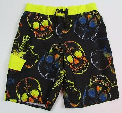 Arizona Swim Shorts Boys Size Medium 8 nwt Skulls