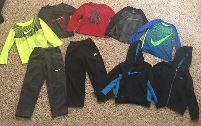 Lot Of Boys Nike 5/6 Fall/winter Clothes
