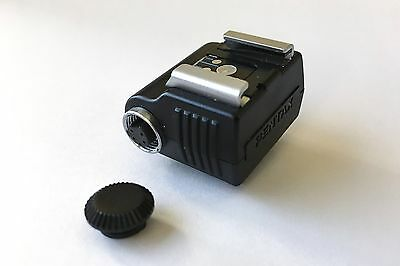 Pentax Hot-Shoe Adapter F  Part #31022, 5 Pin Connector - Free Shipping