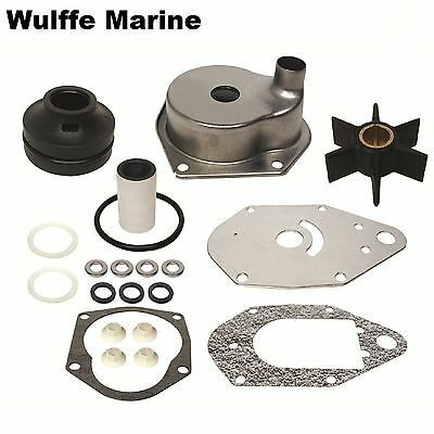 Water Pump Kit for Mercury 50 55 60 hp 3 cyl outboard also 45 Jet 46-812966A11
