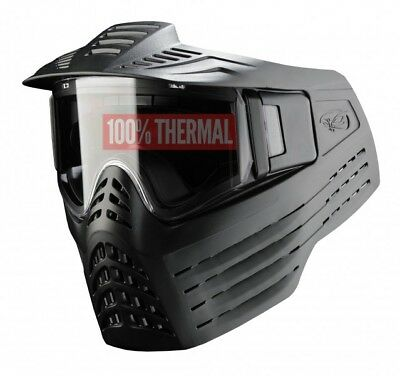 Paintball Maske Vforce Sentry thermal schwarz