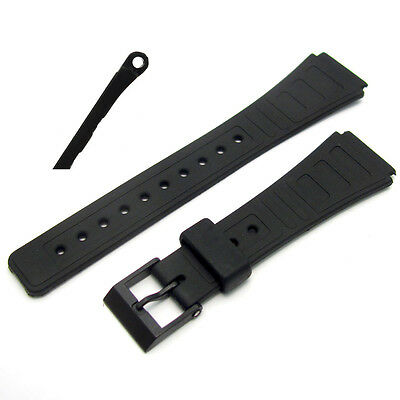 Replacement Watch Strap 18mm 124F3 To Fit Casio AQW5, F28, AW15, F28W