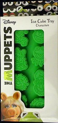 NEW MUPPETS Ice Cube Tray Jello Candy Mold Kermit Miss Piggy Animal Floyd Animal