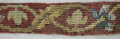 Fragment antique 17th century tapestry