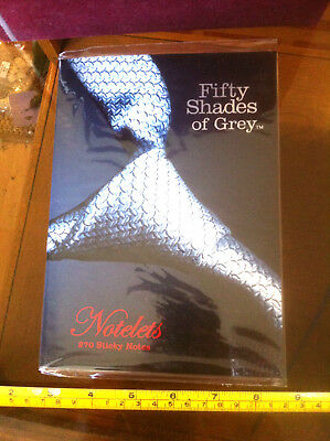 Fifty Shades of Grey Gift Notelets 270 Sticky Notes Leave Messages & Demands
