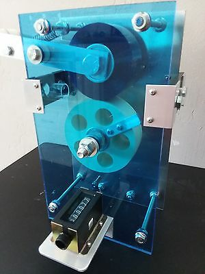 High Accuracy Wire Line Counter Measuring Machine with mechanical counter