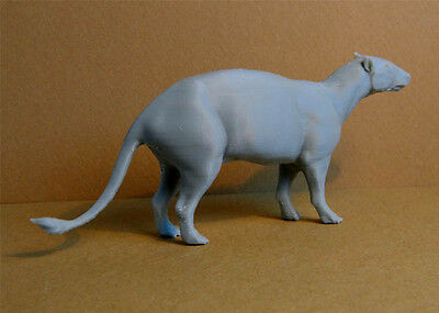 Phenacodus model 1/13 scale 3d plastic print, figurine, super rare!