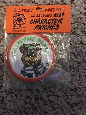 Jellystone Park Yogi Bear Patch Vintage New