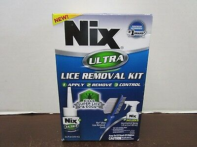 Nix Ultra Lice Removal Kit Exp: 10/19 Mm 8414