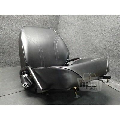 Total Source ASXH1/00 Black Vinyl Forklift Seat*