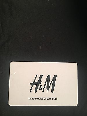 H&M Gift Card $205 Value