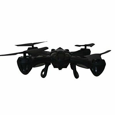 Hover-Way 2.4 GHZ Alpha Drone with 480PCamera & 8 GB SD Card - Black