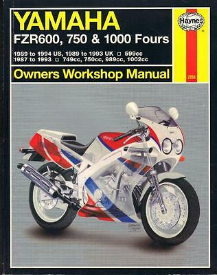 1989 yamaha yz250 service manual