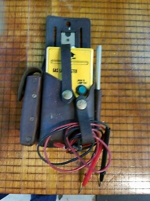 Gas Lamp Tester, Beha Lt 277, Leather Pouch, Antenna, Probes.