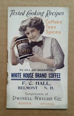 White House Brand Coffee & Royal Spices,Recipe Booklet,1900's