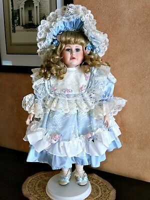"21"" Porcelain Hand Painted Doll - ""Elizabeth"" by Camelot Dolls"