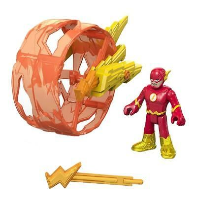NEW Imaginext DC Super Friends The Flash Speed w/Wheel Fisher-Price Figures Toy