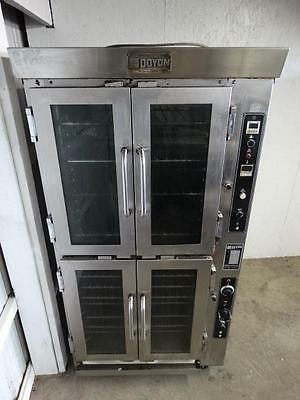 2004 Doyon JAOP6 Commercial Double Deck Electric Bakery Jet Air Oven Proofer