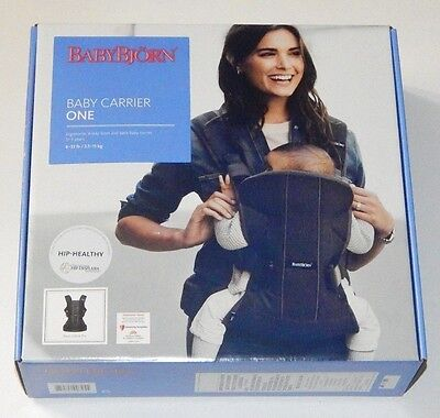 *BABY BJORN One Air Mesh . Black Color FACTORY BRAND NEW WITH FREE SHIPPING*
