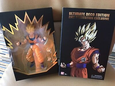 Dragon Ball Z Super Saiyan Goku Ultimate Deco SDCC Convention Exclusive 2017