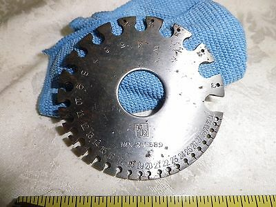 H R Superior Wire Gage  24-689  Very nice shape