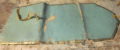 TWO antique 19th c AAFA sewing roll-up housewife needle cases 1800s as is study