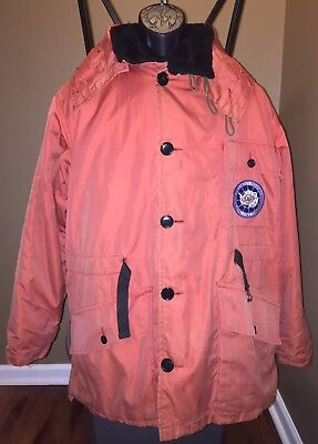 VTG 60s USARP Antarctic Insulated Hooded Coat Removeable Vest Parka US Research