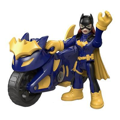 NEW Imaginext Batgirl & Cycle Fisher-Price DC Super Friends Figure Motorcycle