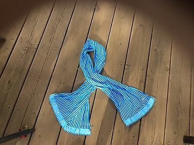 Ivivva Blue And Teal Scarf - Lululemon For Girls