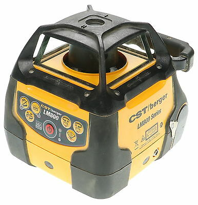 CST/BERGER Ld-400, Lm800 Series Self Leveling Electronic Rotary Laser Detector