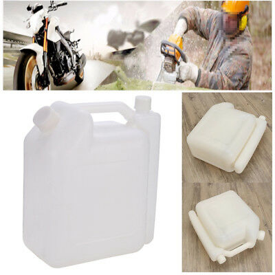 4L Portable 2-Stroke Fuel Petrol Oil Mixing Bottle 25:1 20:1 Chainsaw Strimmer