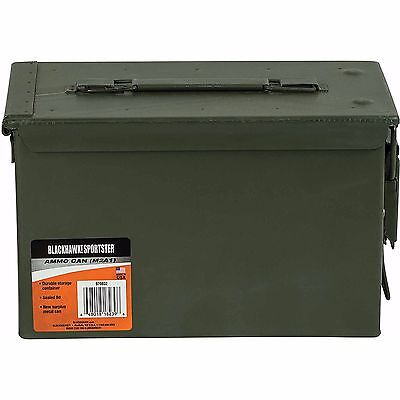 50cal M2A1 US Military Metal Ammo Can New Blackhawk