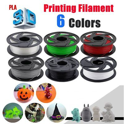 3D Printer Filament PLA 1.75mm 1kg/Roll Multiple Colours 300M MakerBot ProX AUZ