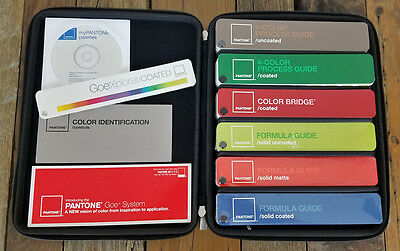 Pantone Essentials Advanced Color Reference Set, Complete in Case, Most Sealed