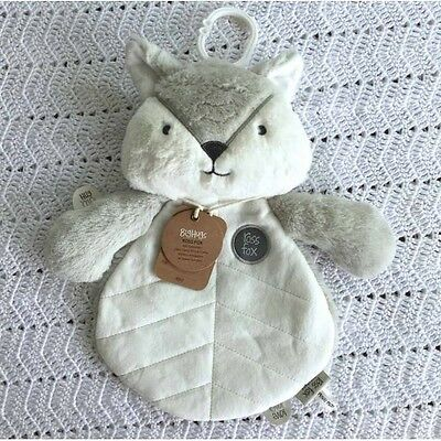 O.B Designs Comforter Ross Fox (Silver) - Baby Plush Security Blanket OB Gift