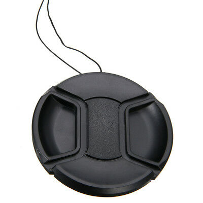 Universal 67mm Center-Pinch Snap-on Front Lens Cap Cover for DSLR Camera Canon